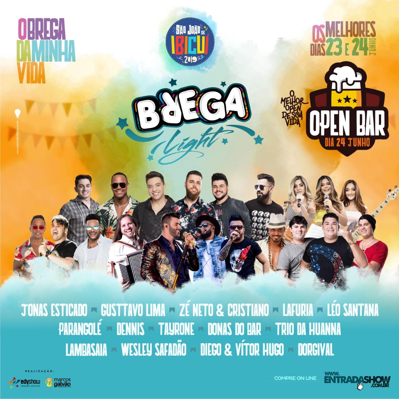 Brega Light 2019 em Ibicuí - BA
